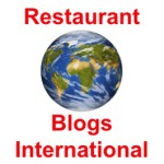 Restaurant Blogs International 2013