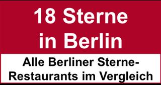 18 Sterne in Berlin breit
